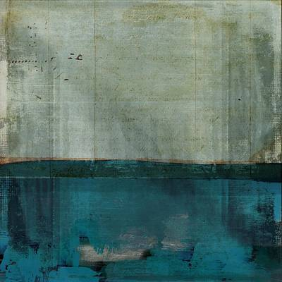 Minima - S02b Turquoise Poster by Variance Collections