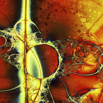 Mirror Of Dreams Poster by Dan Turner