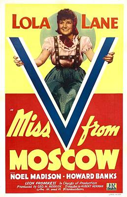 Miss V From Moscow, Us Poster, Lola Poster by Everett