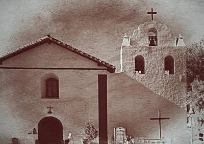 Mission Santa Ines Poster by See My  Photos