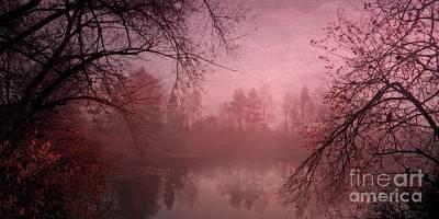 Misty Morning Light Poster by Priska Wettstein