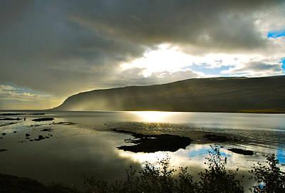 Misty Westfjords Poster by Bob Berwyn