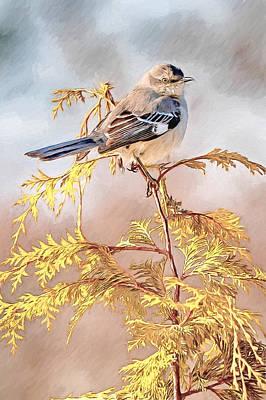 Mockingbird Poster by John Haldane
