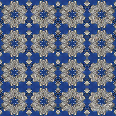 Modern Buidlings Into Moroccan Tile 1 Poster by Beverly Claire Kaiya