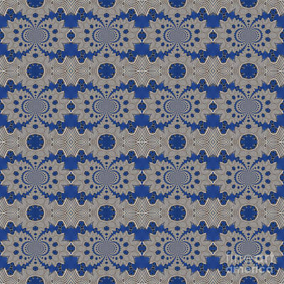 Modern Buidlings Into Moroccan Tile 3 Poster by Beverly Claire Kaiya
