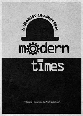 Modern Times Poster by Ayse Deniz