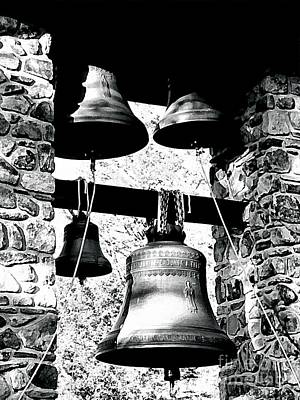 Monastery Bells Poster by Janine Riley