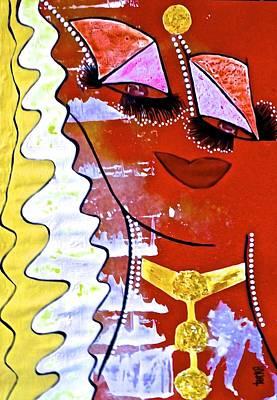#money Grace Poster by Lady Picasso Tetka Rhu