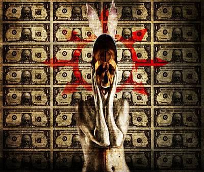 Money Poster by Johan Lilja