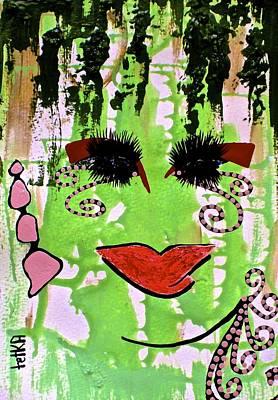 #money Showers Poster by Lady Picasso Tetka Rhu