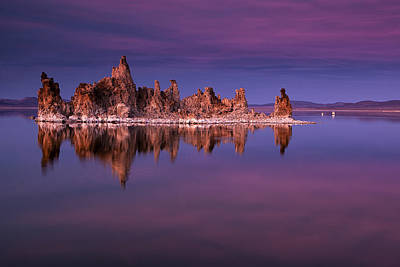 Mono Lake Evening Poster by Andrew Soundarajan