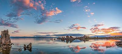 Mono Lake Morning - Eastern Sierra Sunrise Photograph Poster by Duane Miller
