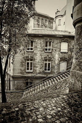 Montmartre Mono 05 Poster by Russ Dixon