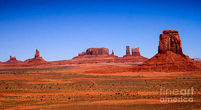 Monument Valley II Poster by Robert Bales