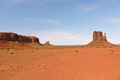 Monument Valley Navajo Tribal Park Poster by Christine Till