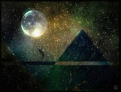 Moon Dance Poster by Gun Legler