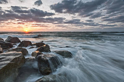 Morning All The Time Poster by Jon Glaser
