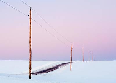 Morning Road Poster by Todd Klassy