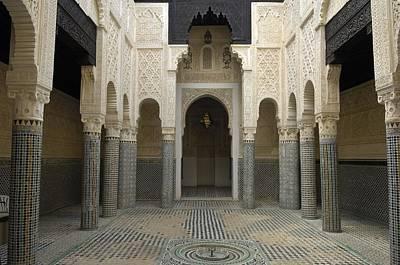 Morocco. Sal�. Madrasah C. 1341 Poster by Everett