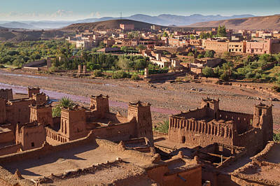 Morocco, Souss-massa-draa, Ait Benhaddou Poster by Emily Wilson