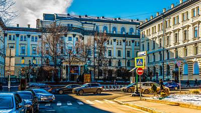Moscow P. I. Tchaikovsky Conservatory Poster by Alexander Senin