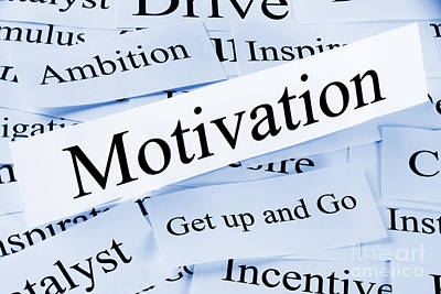 Motivation Concept Poster by Colin and Linda McKie