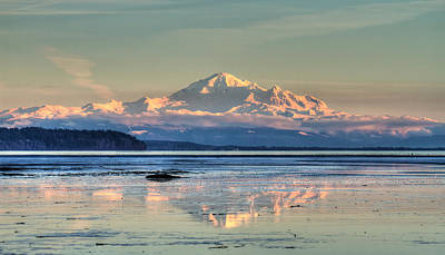 Mount Baker North Cascades National Park Poster by Pierre Leclerc Photography