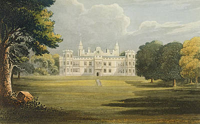 Mount Edgecumbe, From Ackermanns Poster by John Gendall