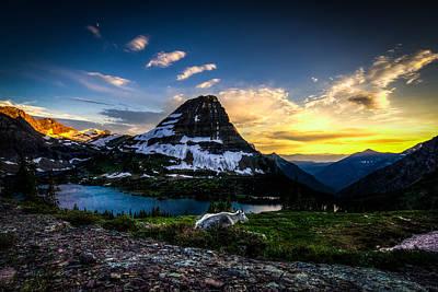 Mountain Goat's Paradise Poster by Derek Haller