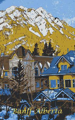 Mountain Retreat Poster by Jo-Anne Gazo-McKim