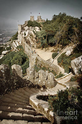 Mourish Castle Poster by Carlos Caetano