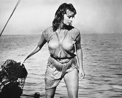 Movie Star Sophia Loren Poster by Underwood Archives
