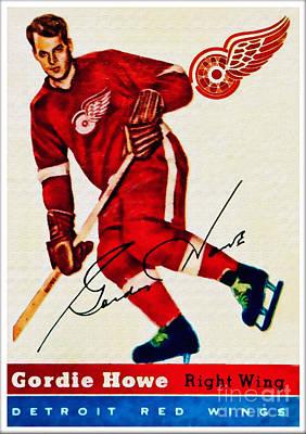 Mr. Hockey  Poster by Kerry Gergen