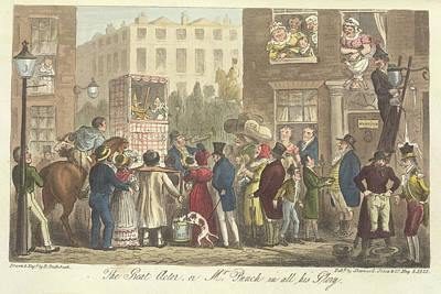 Mr Punch Poster by British Library