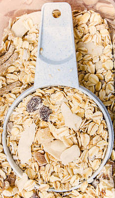 Muesli Scoop Serving Cup Poster by Jorgo Photography - Wall Art Gallery