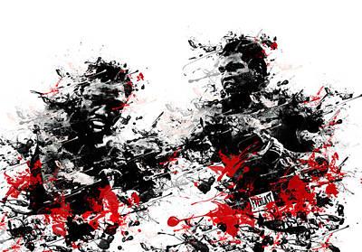 Muhammad Ali Poster by Bekim Art