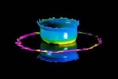 Multicoloured Bowl Poster by Jaroslaw Blaminsky