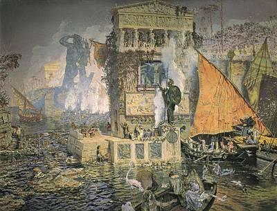 Mu�oz I Degrain, Antoni 1841-1924. The Poster by Everett