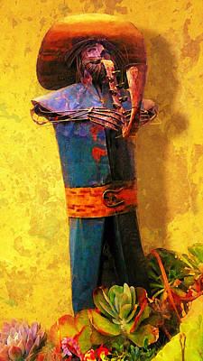 Musical Mariachi Poster by Ron Regalado