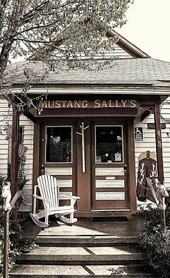 Mustang Sally's Poster by Ron Regalado