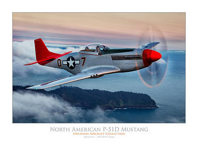Mustang Sunset Poster by Lyle  Jansma
