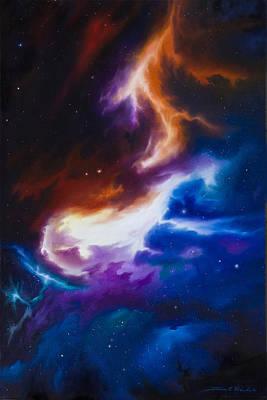 Mutara Nebula Poster by James Christopher Hill