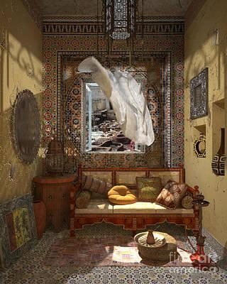 My Art In The Interior Decoration - Morocco - Elena Yakubovich Poster by Elena Yakubovich
