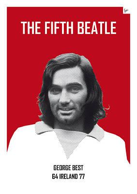 My Best Soccer Legend Poster Poster by Chungkong Art