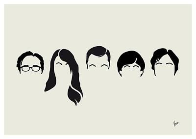 My-big-bang-hair-theory Poster by Chungkong Art