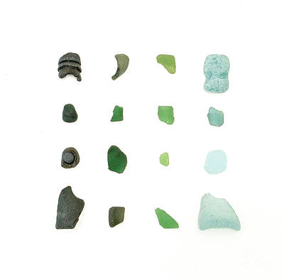 My Favorite Sea Glass Poster by Jennifer Booher