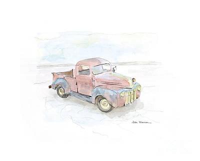 My Favorite Truck Poster by Joan Sharron