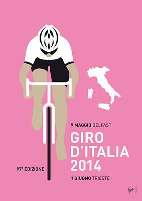 My Giro D Italia Minimal Poster 2014 Poster by Chungkong Art