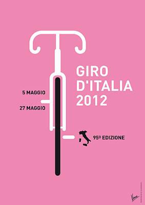 My Giro D' Italia Minimal Poster Poster by Chungkong Art