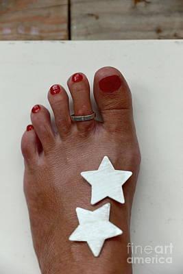 My Left Foot Poster by Eva Ozkoidi